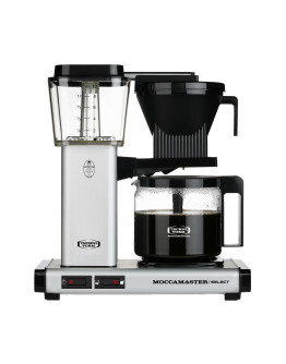 Moccamaster KBG 741 Select - Matt silver - Filter Coffee Maker