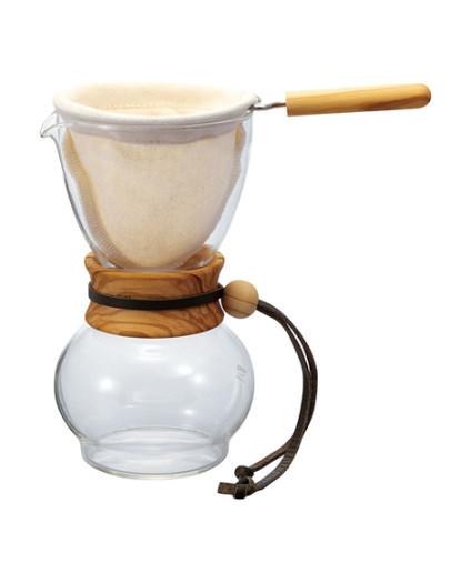 Hario Drip Pot Olive Wood – 480ml