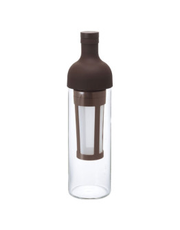 Hario Filter-In Coffee Bottle – Bottle for Cold Brew – brown
